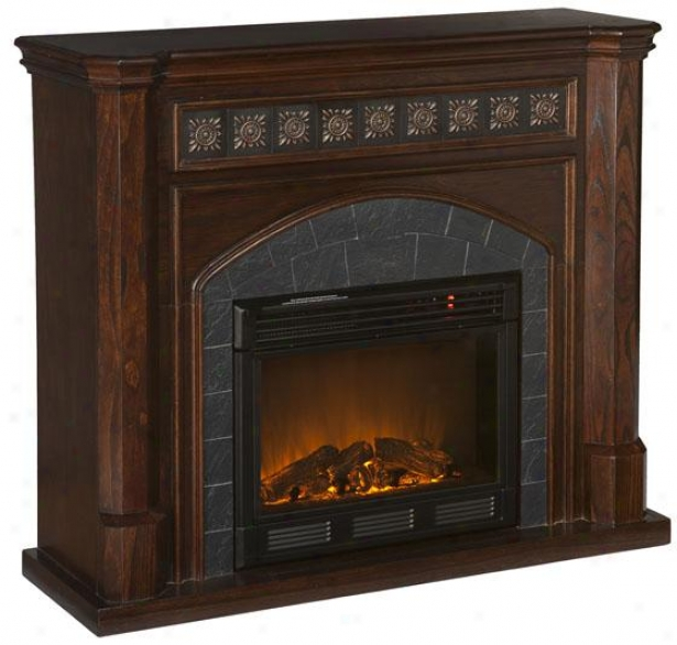 Lake Autry Fireplace - Electric Frplce, Bronze