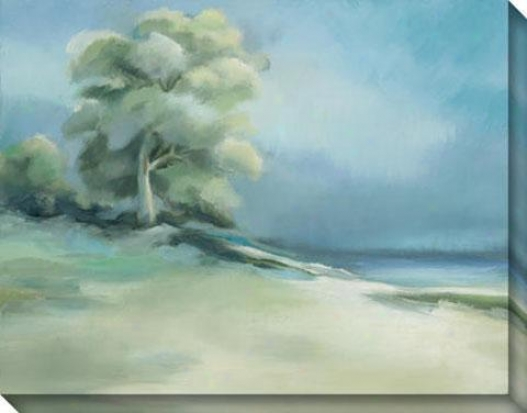 Lakeside Tree I Canvas Wall Art - I, Melancholy