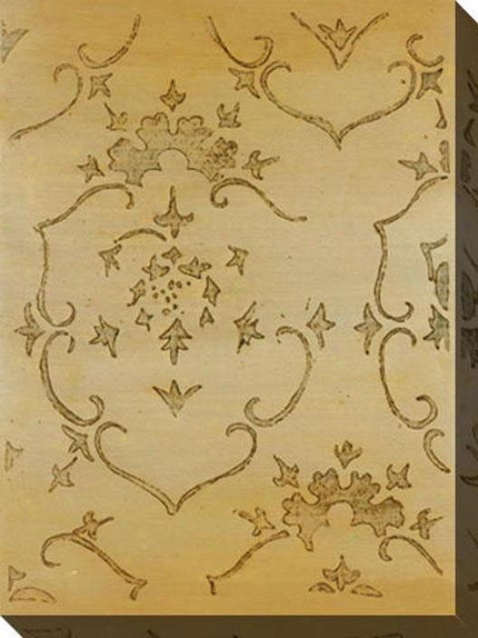 Lasting Impression I Canvas Wall Art - I, Gold