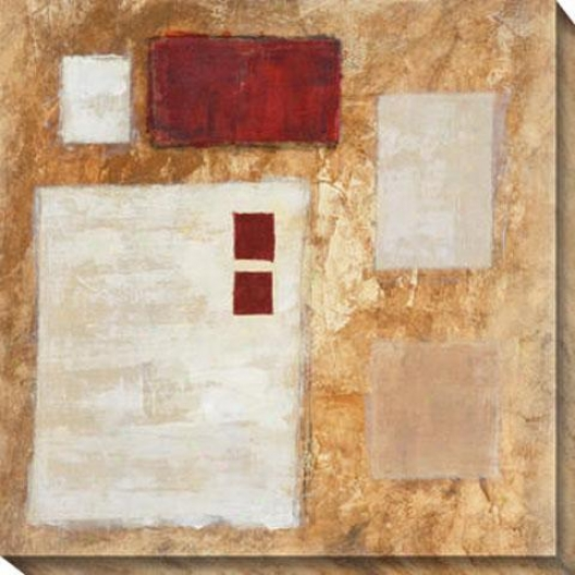 Lattice I Cavas Wall Practical knowledge - I, Gold
