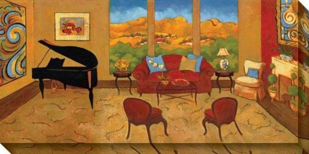 Lavish Surroundings Ii Canvas Wall Art - Ii, Multi