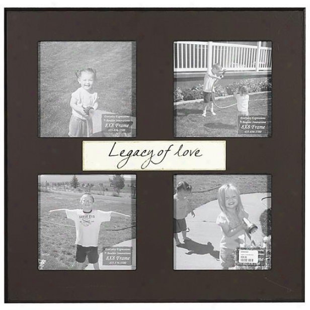 Legacy Of Love Frame - 8 X 8 - 4(8x8), Brown