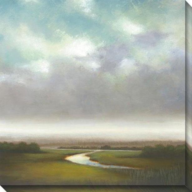 Light Precipitation I Canvas Wall Art - I, Gray