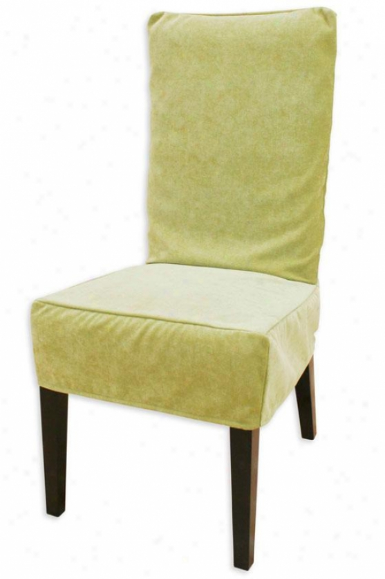 Lilith Collection Parsons Chair Slipcover - Parson Slip Cvr, Adagio Lime
