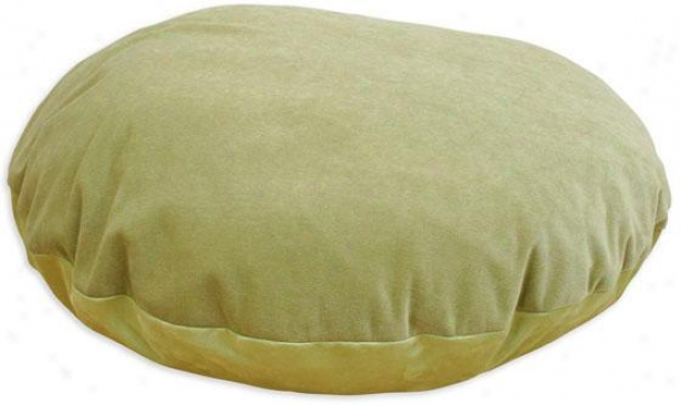 """lilith Collection Pet Bed - 36"""" Round, Adagio Lime"""