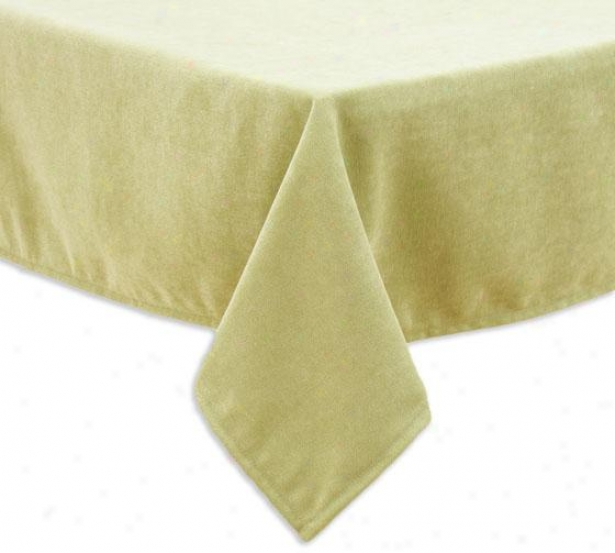 """lilith Collection Table Cloth - Tblclth Sq 53"""", Adagio Lime"""