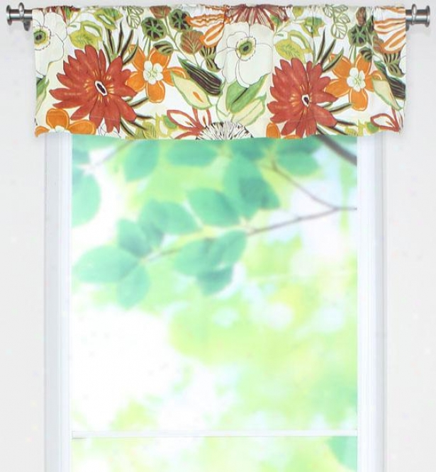 Lilith Collection Valances - Rod Pkt Valance, Lilith Marigoid