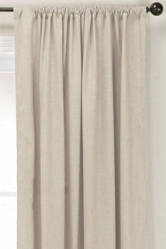 """linen Natural Lined Rod Pocket Drapery - Lnd Rd Pckt Drp, 96""""hx54""""w"""