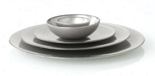 """""""lino Serving Platter - Large Platter 16""""""""dx, Silver"""""""