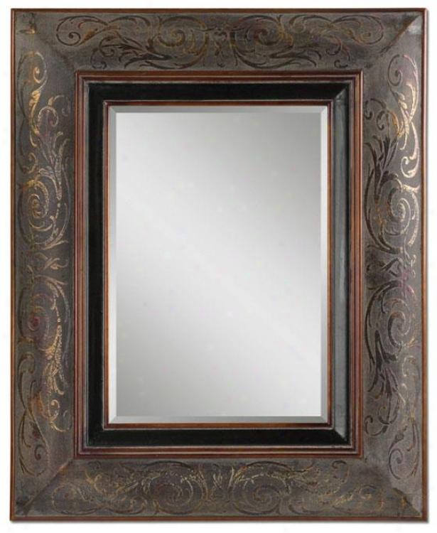 """""""lucius Mirror - 43hx35wx3""""""""d, Bronze"""""""