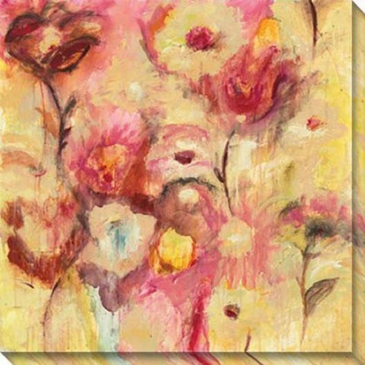 Luscious Ii Canvas Wall Art - Ii, Yellow
