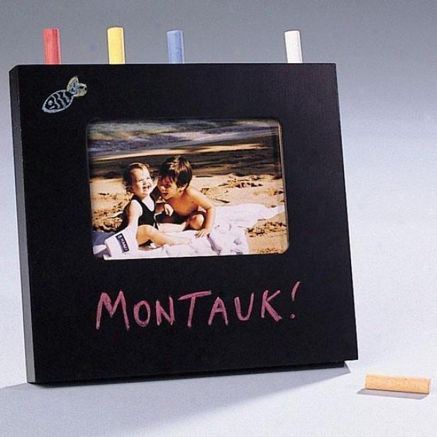 Make Memories Chalk Board Photo Frame