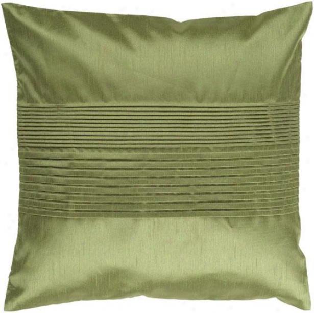 Mason Decorative Pillow - 18hx18w Poly, Green