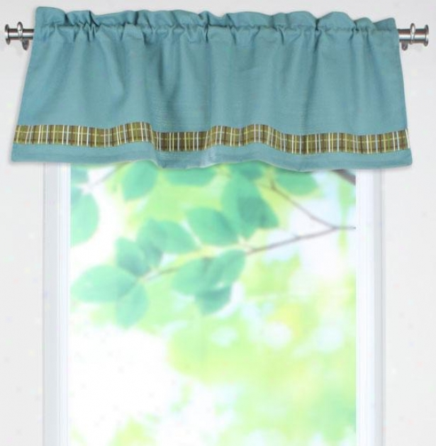 Maxwell Collection Valances - Valance W/band, Summrhous Elixr
