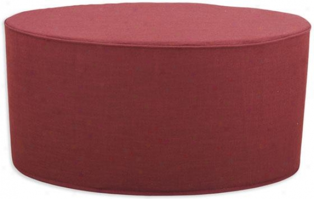 Maua Collection Ottoman - Ottoman Crd Ovl, Circa Solid Lav