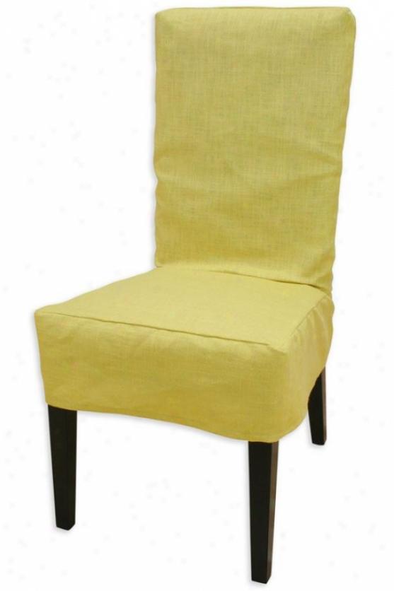 Maya Collection Parsons Chair Slipcover - Parson Slip Cvr, Circa Solid Pin