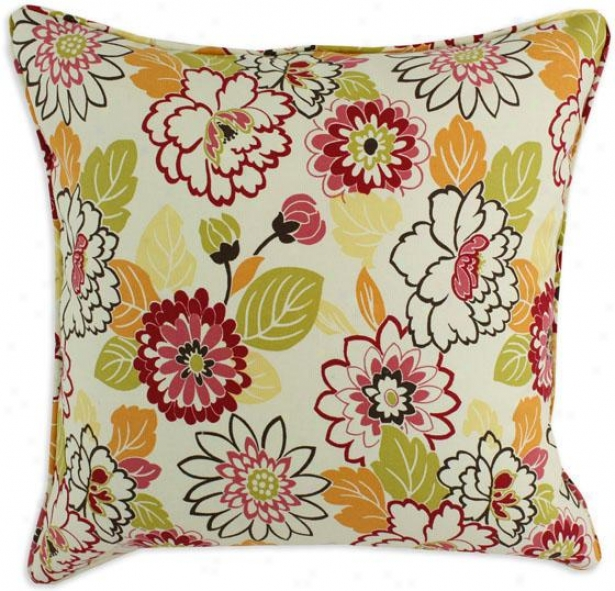 Maya Accumulation Pillows - Pil Corded 17sq, Maya Poppy