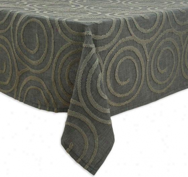 """maya Collection Table Clergy - Tbllth 53x70"""", Outlook Smoke"""