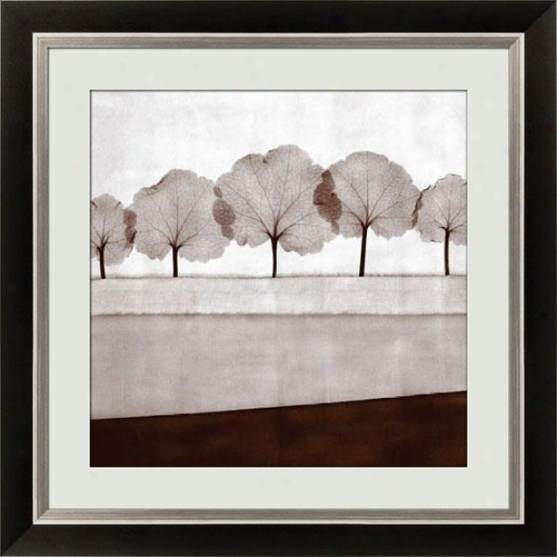 Mirage Vii Framed Wall Art - Vii, Black