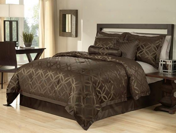 Miraval Comfor5er Set - 7pc King Set, Brown