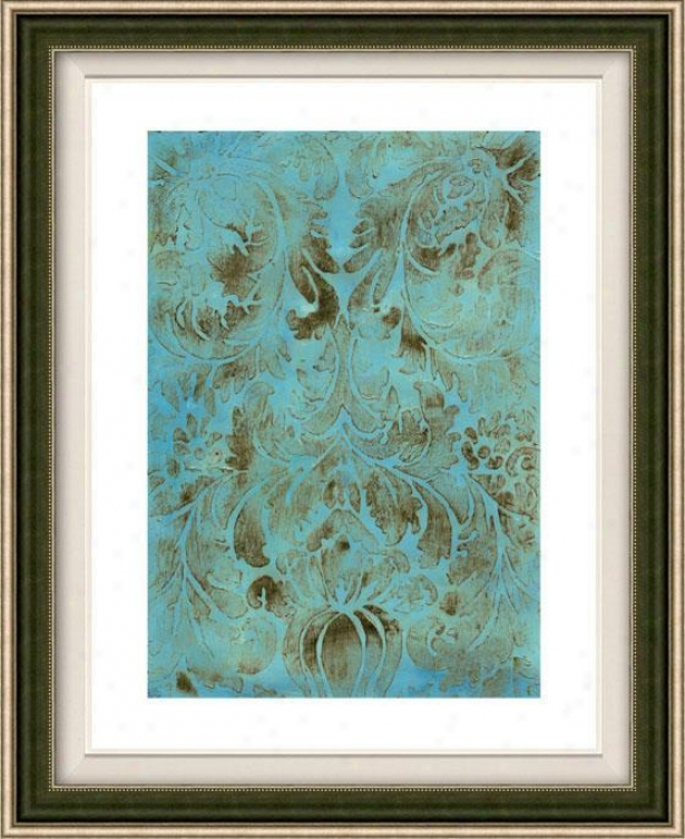 Modal Vii Framed Wall Art - Vii, Floated Silver