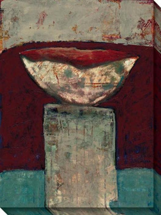 Recent Trophy Ii Canvas Wall Art - Ii, Brown