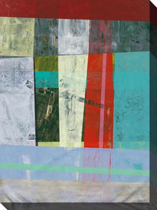 Moderrn Ways Of Living Ii Canvas Wall Art - Ii, Multi
