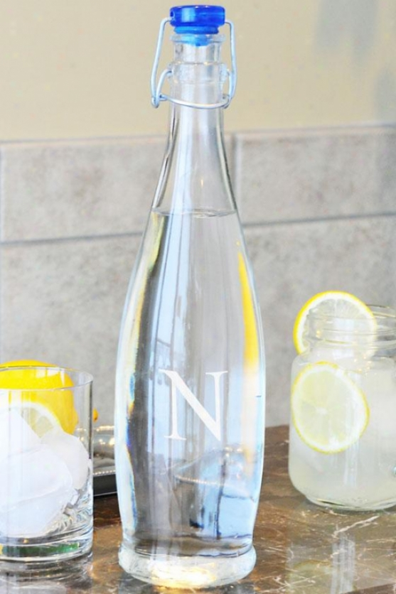 Monogram Decanter Water Bottle - 33.75oz, R