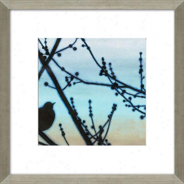 Morning Song I Framed Wall Art - I, Mattec Silver