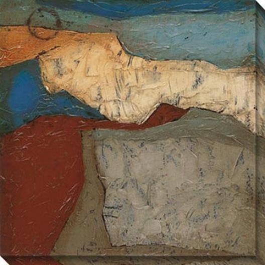 Mountainous Ii Canvas Wall Art - Ii, Multi