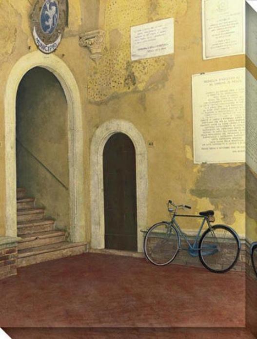 """""""municipo Canvas Wall Art - 36""""""""hx48""""""""w, Gold"""""""
