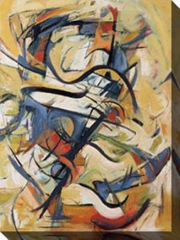 Music I Canvas Wall Art - I, Multi