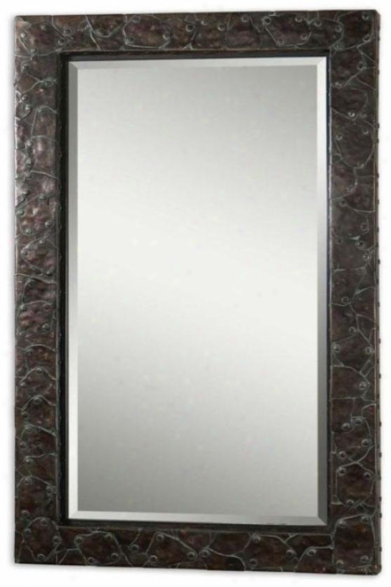 """myles Mirror - 57hx33wx4""""d, Bronze"""