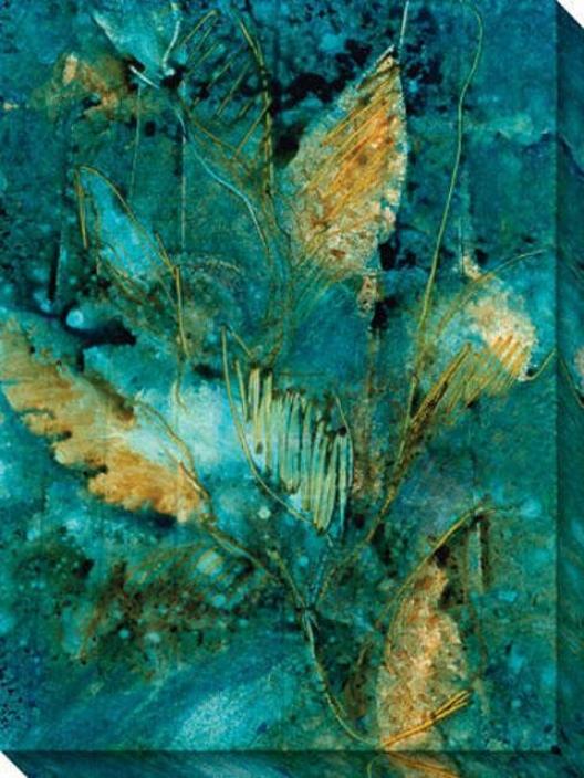 Natural Selection Iv Canvas Wall Art - Iv, Blue
