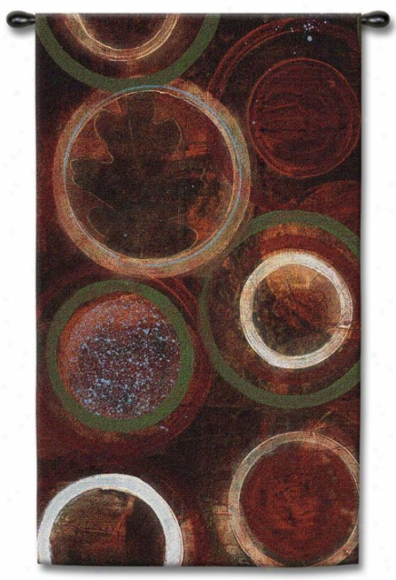 """nature's Spheres Tapestry - 52""""hx32""""w, Multi"""