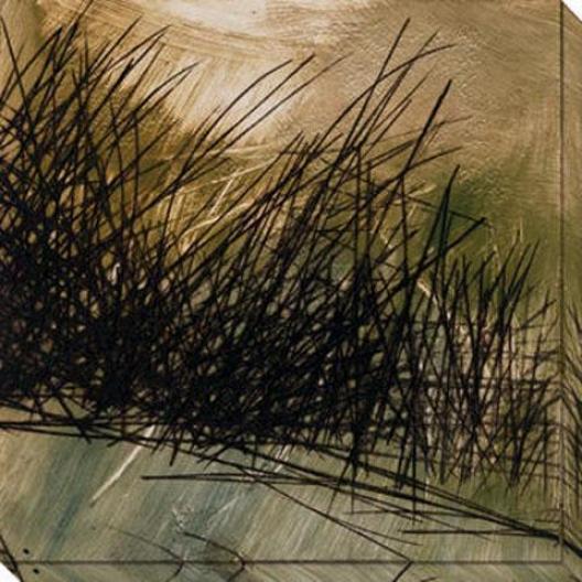 Nest Series I Canvas Wall Art - I, Black