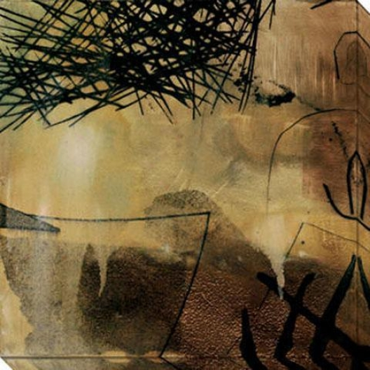 Nest Series Ii Canvas Wall Art - Ii, Black