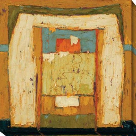 New Phase Series Ii Canvas Wall Art - Ii, Beige