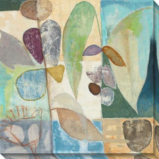 New Tropic I Canvas Wall Art - I, Pastel