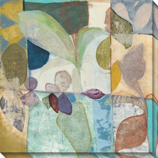 New Tropic Ii Canvas Wakl Art - Ii, Pastel