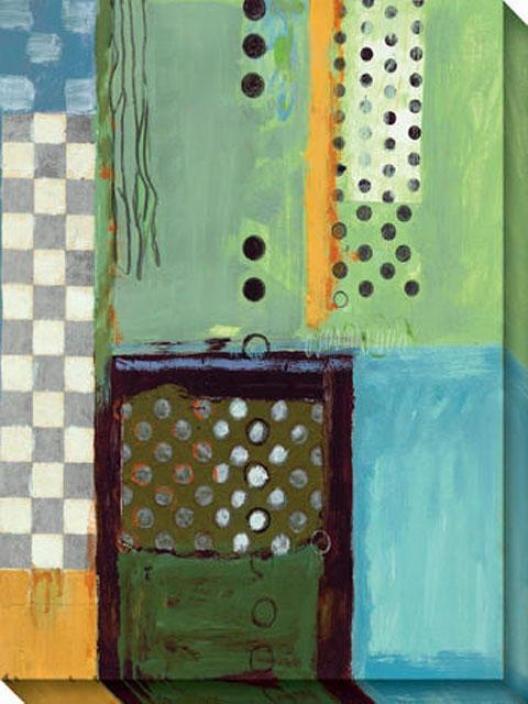 Ocean Ii Canvas Wall Art - Ii, Blue