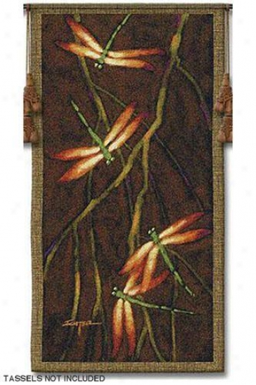 """""""october Song Ii Tapestry - 53""""""""hx27""""""""w, Multi"""""""