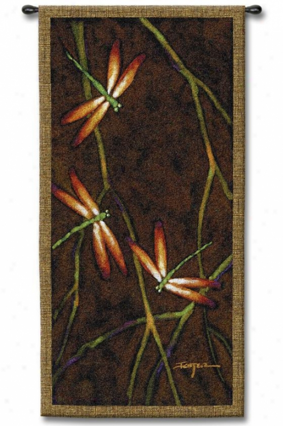 """october Song Tapestry - 53""""hx27""""w, Multi"""
