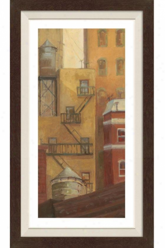 Old Town I Framed Wall Art - I, Fltd Espresso