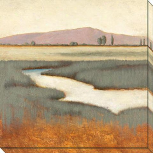 """olive Grove Canvas Wall Art - 40""""hx40""""w, White"""