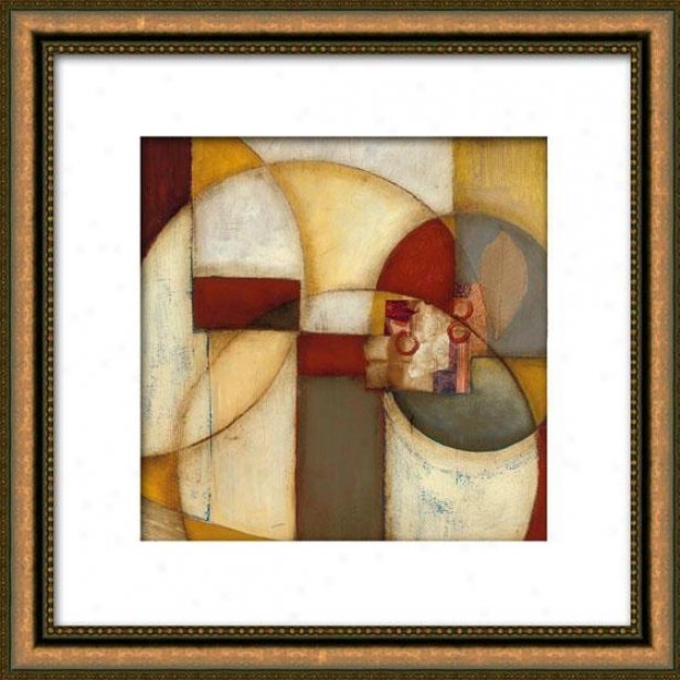 Exterior Reaches I Framed Wall Art - I, Matted Gold