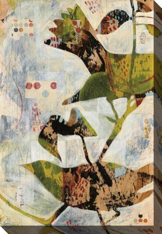 Outside In I Canvas Wall Art - I, Whitw