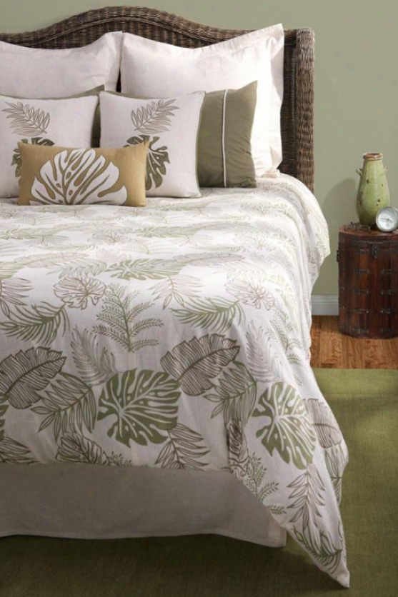 Palm Coast Bedding Set - King, Beige