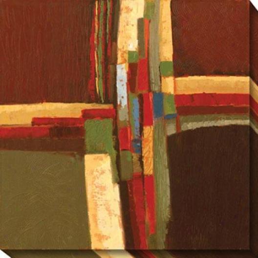 Passages Canvas Wall Art I - I, Brown
