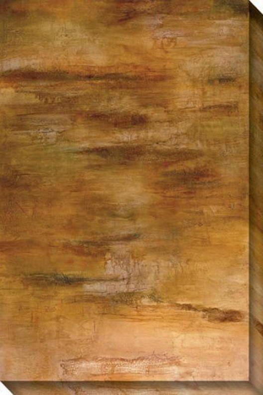 Passages I Canvas Wall Art - I, Tan
